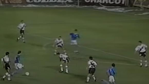 Sporting Cristal jugó un excelente partido ante los 'Millonarios', que luego saldrían campeones de la Copa Libertadores 1996. (Foto: YouTube)