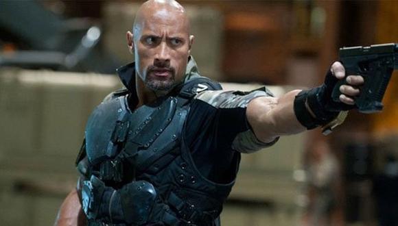 """Dwayne Johnson se integró al elenco principal como el oficial Luke Hobbs en """"Rápidos y furiosos 5"""" (""""Fast Five"""") (Foto: Universal Pictures)"""