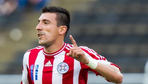 Edgar Benítez será nuevo jugador de Alianza Lima para la Fase 2. (Foto: EFE)