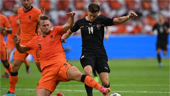 De Ligt llegó a la Juventus procedente del Ajax, equipo donde era capitán. (AFP)
