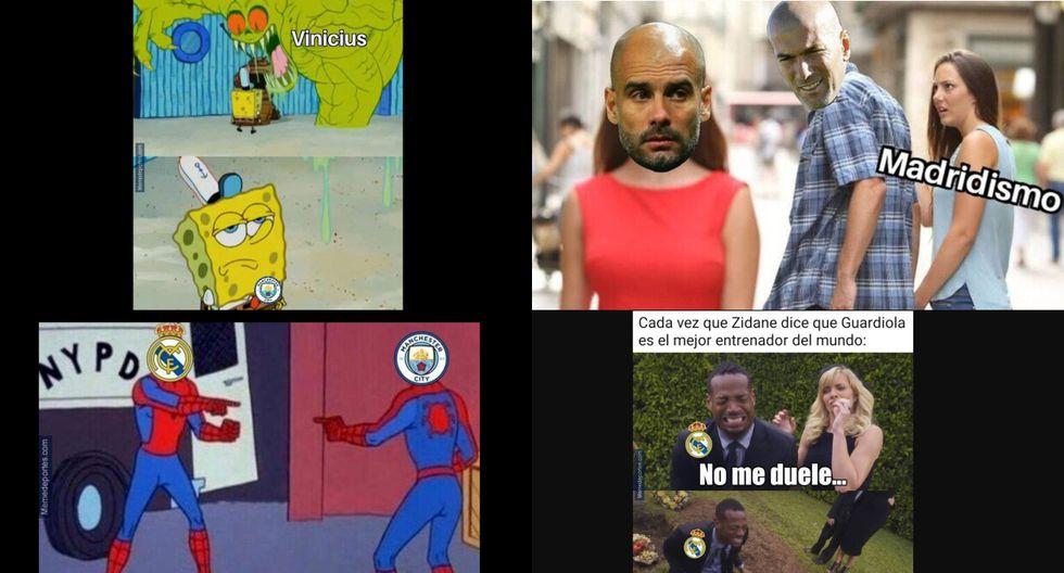 No dejarás de reír: mira los mejores memes de la derrota del Real Madrid ante el Manchester City por la Champions League [FOTOS]