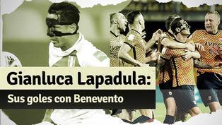 ¡Viene en racha! Mira los últimos goles de Gianluca Lapadula con Benevento