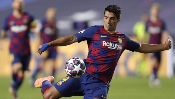 Suárez jugará las próximas dos temporada en el Atlético de Madrid. (Foto: AFP)