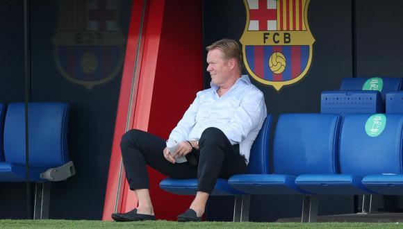 Ronald Koeman llegó al Barcelona en reemplazo de Quique Setién. (Reuters)