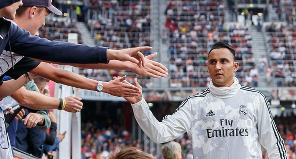 Keylor Navas enfrentaría al Madrid con el PSG en el arranque de la Champions League.
