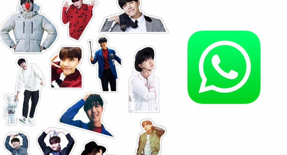 ¿Quieres tener a BTS en WhatsApp? Ya puedes descargar su pack oficial de stickers. (Foto: BTS)