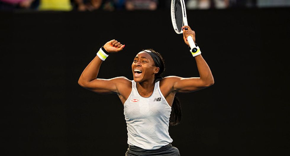 Coco Gauff se ubica en el puesto 67 de la WTA. (Getty Images)