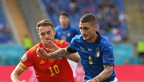 Italia clasificó en el primer lugar del Grupo A de la Eurocopa 2021. (Getty)