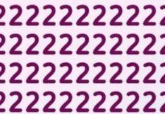 ¿Puedes encontrar el 7 oculto en menos de 3 segundos? Solo un 1% de los que lo intentaron lo lograron