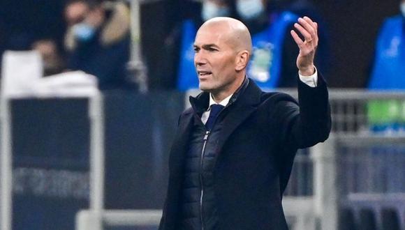 Zinedine Zidane cumple su segunda etapa en el Real Madrid. (Foto: AFP)