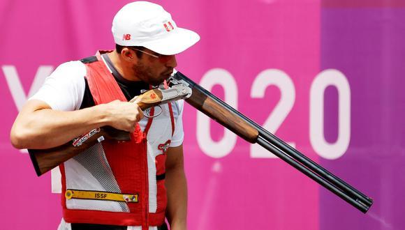 """Nicolás Pacheco, diploma olímpico en Tokio 2020, continúa con el objetivo de ganar una medalla: """"El sueño sigue intacto"""". (EFE)"""