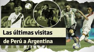 Así le fue a Perú las últimas veces que visitó Argentina en Eliminatorias
