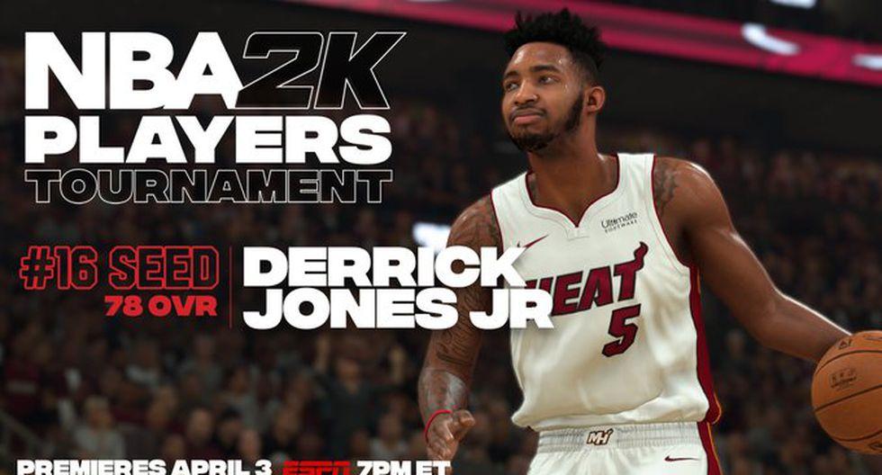 Derrick Jones Jr.. (Foto: Twitter @NBA2K)