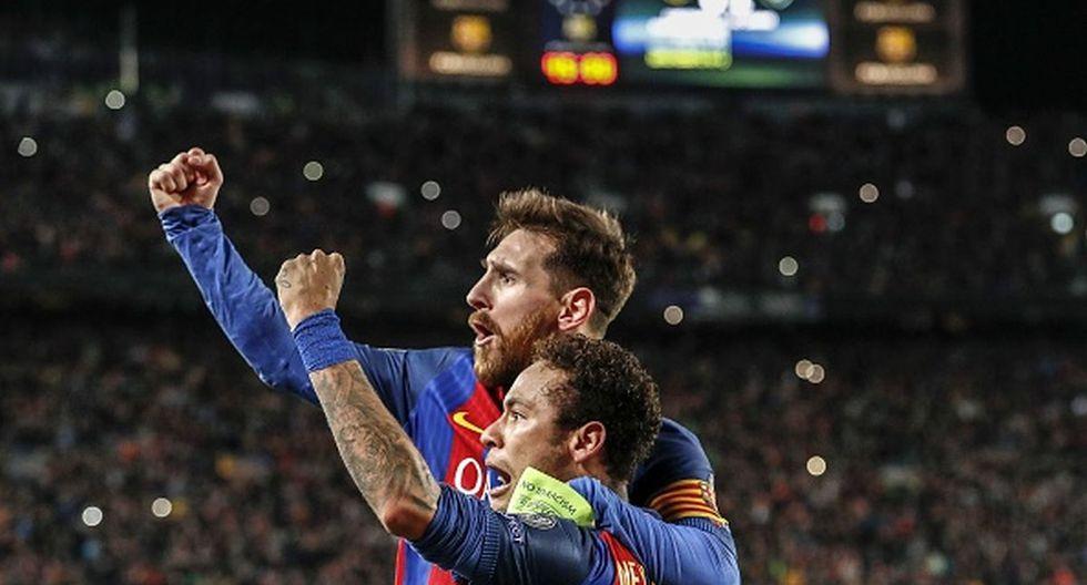 Lionel Messi y Neymar jugaron juntos en el Barcelona hasta 2017. (Getty)
