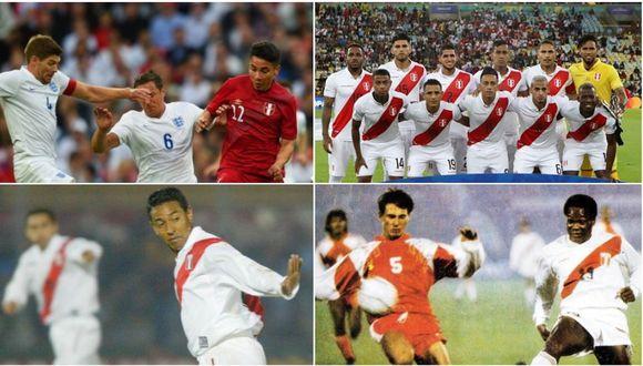La Selección Peruana ha jugado en ocho estadios que fueron sede de la final del Mundial. (Fotos: Getty Images / Archivo GEC / Internet)