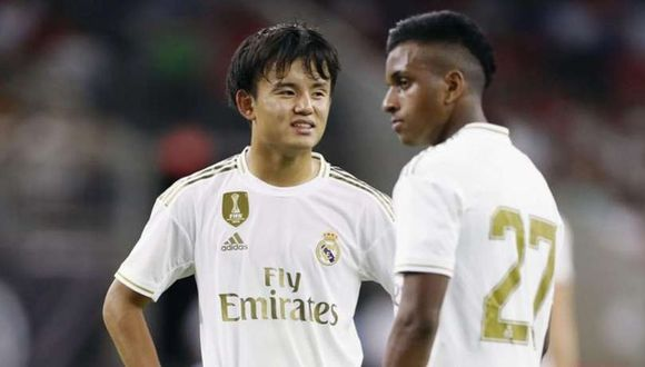 Rodrygo llegó al Real Madrid procedente del Santos. (Diario AS)