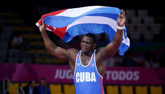 JMijaín López conquistó la medalla de oro en la división de 130 kg en Tokio 2020. (Foto: Getty Images)