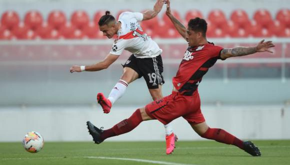 River venció a Atlético Paranaense y avanza de ronda en Copa Libertadores 2020