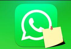 WhatsApp y el truco para usarlo como libreta de notas: te lo explicamos paso a paso