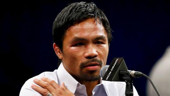 Manny Pacquiao se encuentra retirado de los rings de box por el momento. (Agencias)