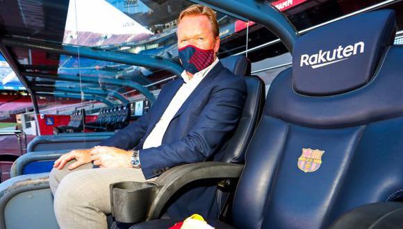 Ronald Koeman firmó contrato con el Barcelona por dos años. (Foto: FC Barcelona)