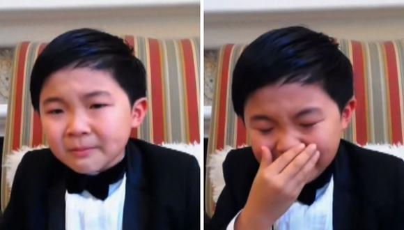 Alan Kim tiene ocho años y ganó el Critics Choice Awards por mejor actor revelación. (Foto: Captura TNT).