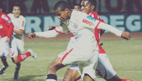Andy Polo anotó su primer gol profesional con la 'U' frente a Cienciano. (Foto: Instagram)