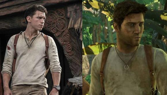 Uncharted, la película, presenta a Tom Holland como Nathan Drake. (Foto: Difusión)