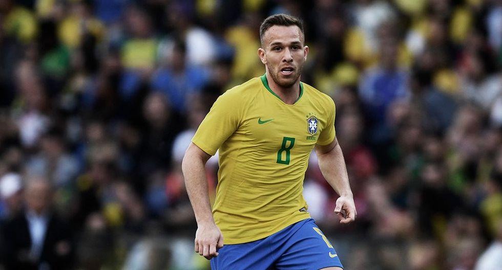 Arthur | Brasil. (Getty Images)