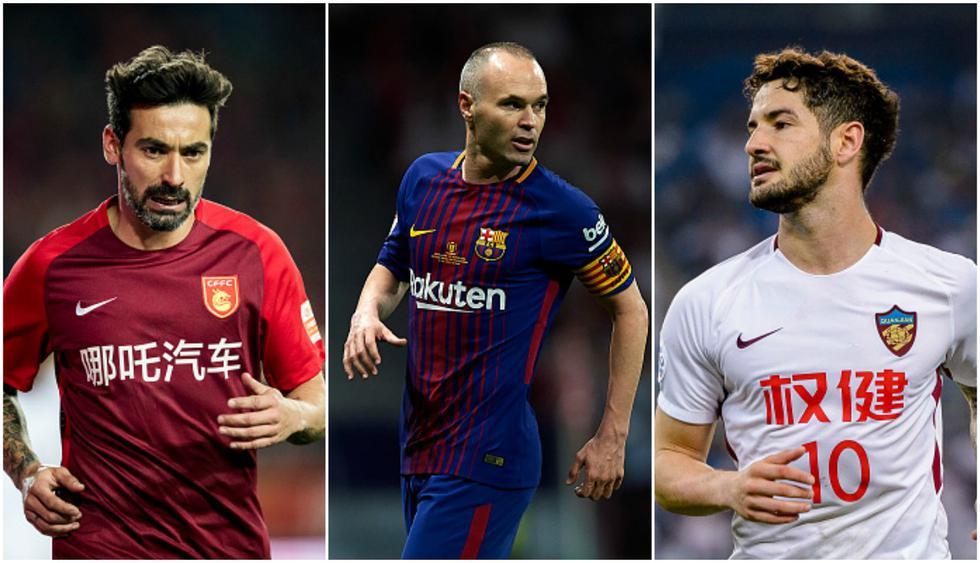 Los jugadores que acompañarían a Iniesta en la Superliga China