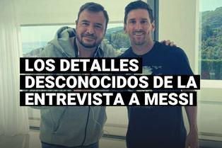 El testimonio del periodista que entrevistó a Lionel Messi en Barcelona