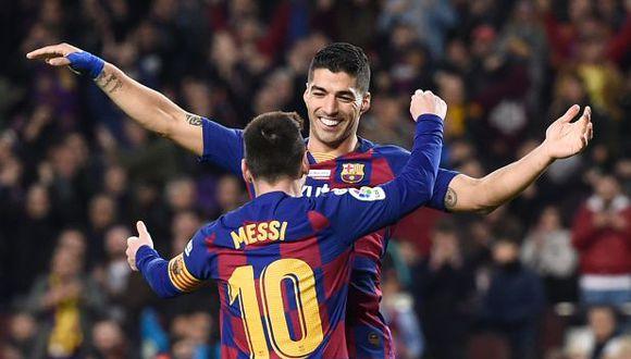 Barcelona venció 5-2 a Mallorca con triplete de Messi y otro de Suárez con taco sensacional por LaLiga