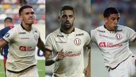 Dos Santos, Urruti y Alonso llegaron a la capital este viernes. (GEC)