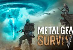 Esto es todo lo que se ha revelado del nuevo juego de Konami, Metal Gear Survive [FOTOS]