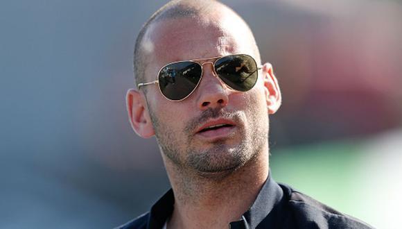 Wesley Sneijder anunció su retiro del fútbol hace dos semanas. (Getty Images)