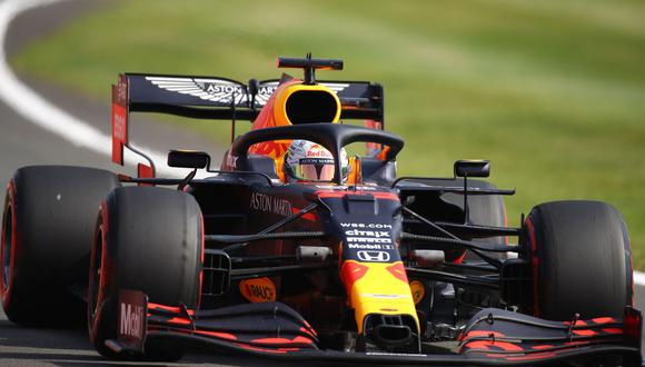 Max Verstappen se quedó con el primer lugar del Gran Premio del 70 Aniversario de la Fórmula Uno. (Foto: AFP)