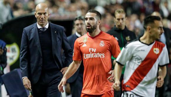 Zinedine Zidane dirige su segunda etapa como DT del Real Madrid. (Foto: Getty)