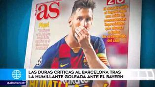 La derrota del Barcelona y el aluvión de críticas en todas partes del mundo