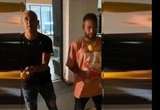 Neymar y Keylor Navas se divierten haciendo malabares y causan sensación en redes [VIDEO]