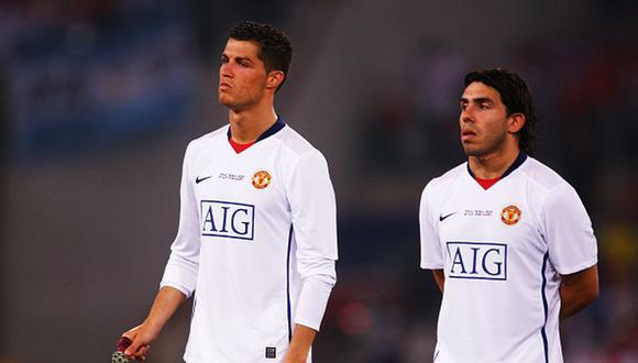Cristiano Ronaldo llegó al Manchester United en la temporada 2003-04. (Getty)