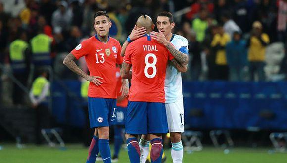 Chile perdió por 2-1 ante Argentina por Copa América 2019. (Getty)