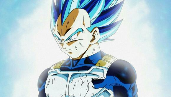 Dragon Ball Super | Vegeta Super Saiyajin Blue
