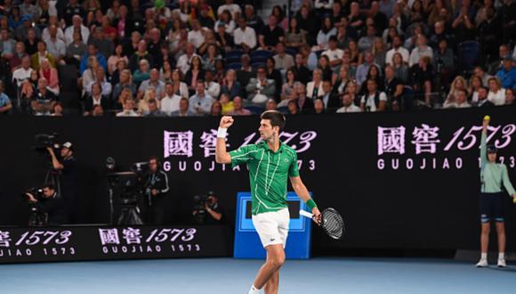 Novak Djokovic ganó la última edición del Australian Open a inicios del año. (Foto: Getty Images)