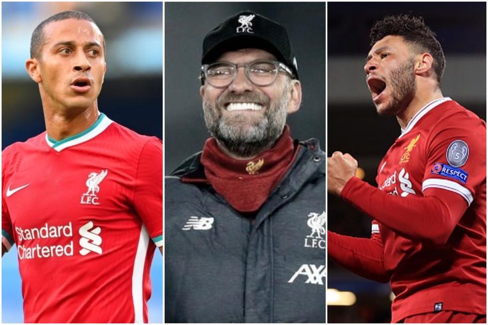 Los 13 lesionados en el Liverpool a lo largo de la temporada.