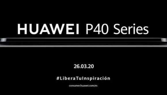Huawei: fecha y hora de la presentación del nuevo flagship de la marca china. (Foto: Huawei)