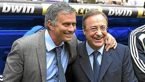 Florentino Pérez tuvo tres años a Mourinho en Real Madrid. (Foto: Difusión)