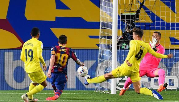 Barcelona venció a Villarreal por LaLiga Santander. (AFP)