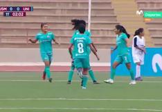 Empezó a escribir la historia: Nahomi Martínez marcó el primer gol de la Liga Femenina 2021 [VIDEO]