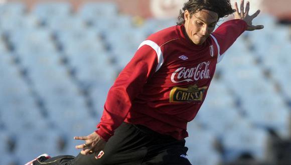José Carlos 'Zlatan' Fernández solo jugó ante Uruguay en las Eliminatorias al Mundial 2014. (USI)