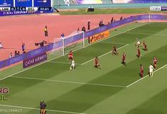 Los dejó 'Frías': Adonis Uriel marcó el 1-0 del Defensa y Justicia vs. Lanús por la final de la Copa Sudamericana [VIDEO]
